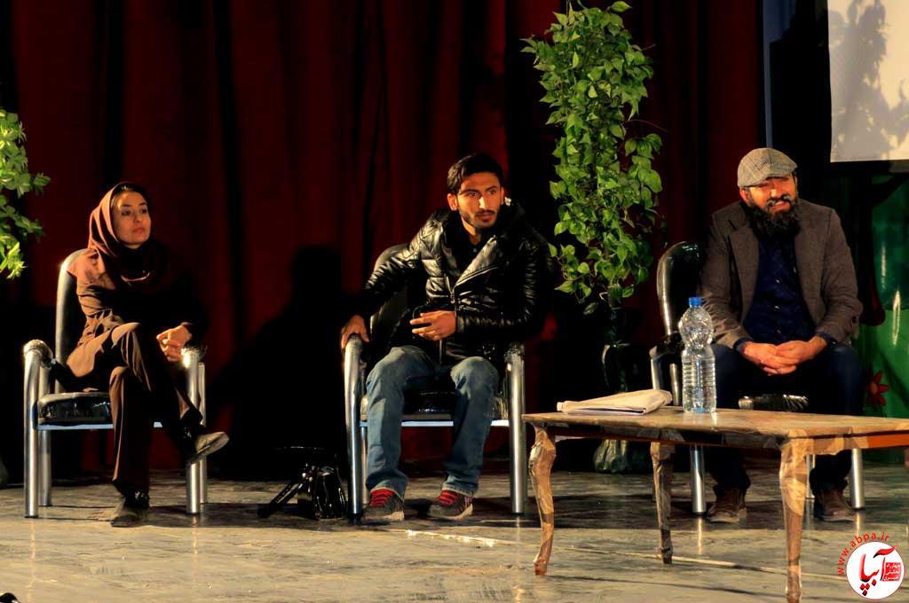گزارش تصویری از تئاتر انتخابات ساختمان شماره 13 پایتخت