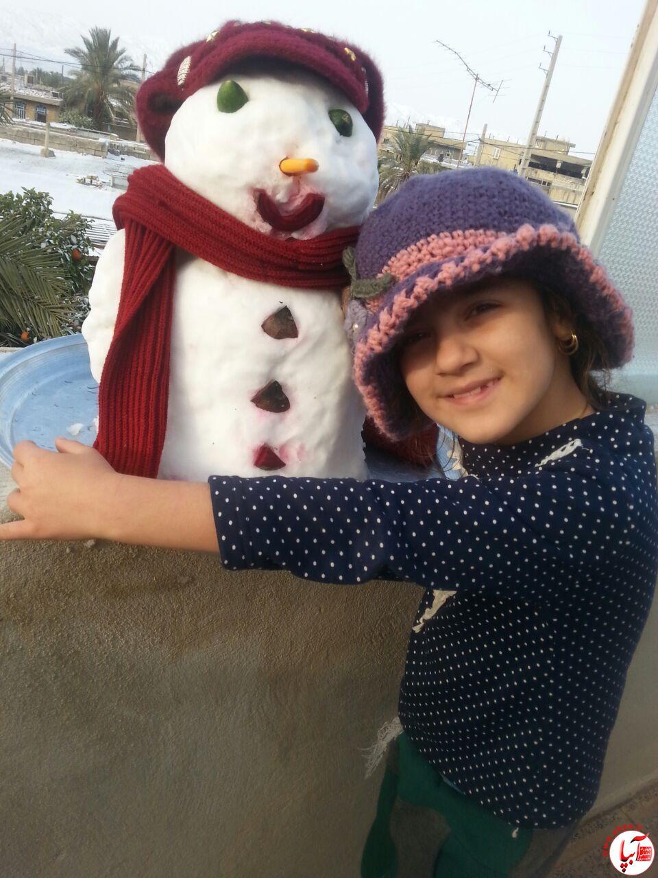 زهرا-عالیشوندی گالری عکس زمستانه ی کودک آبپا