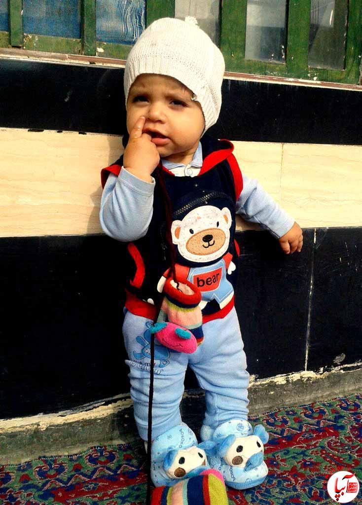 سامیار-فروغی گالری عکس زمستانه ی کودک آبپا