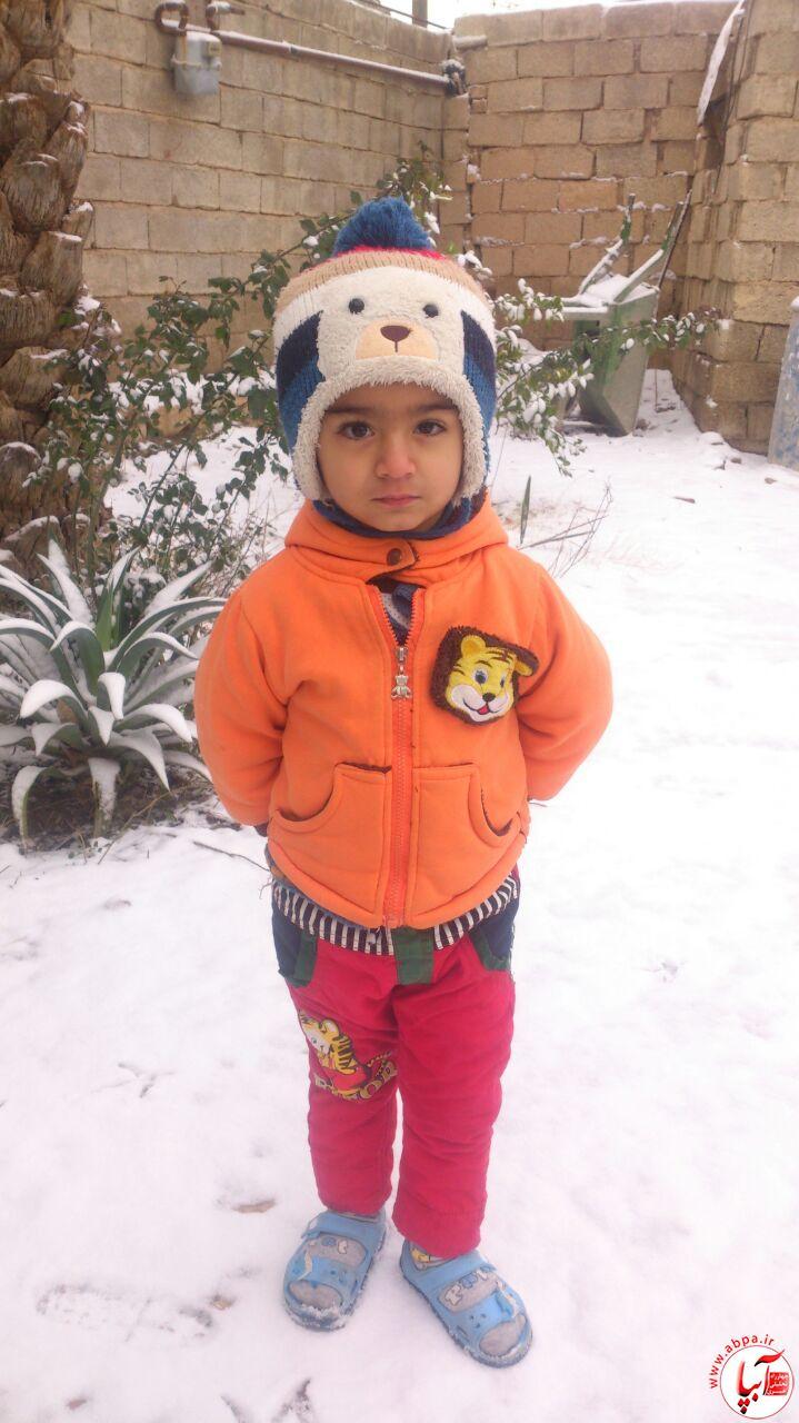 سید-محمد-امیرسادات گالری عکس زمستانه ی کودک آبپا