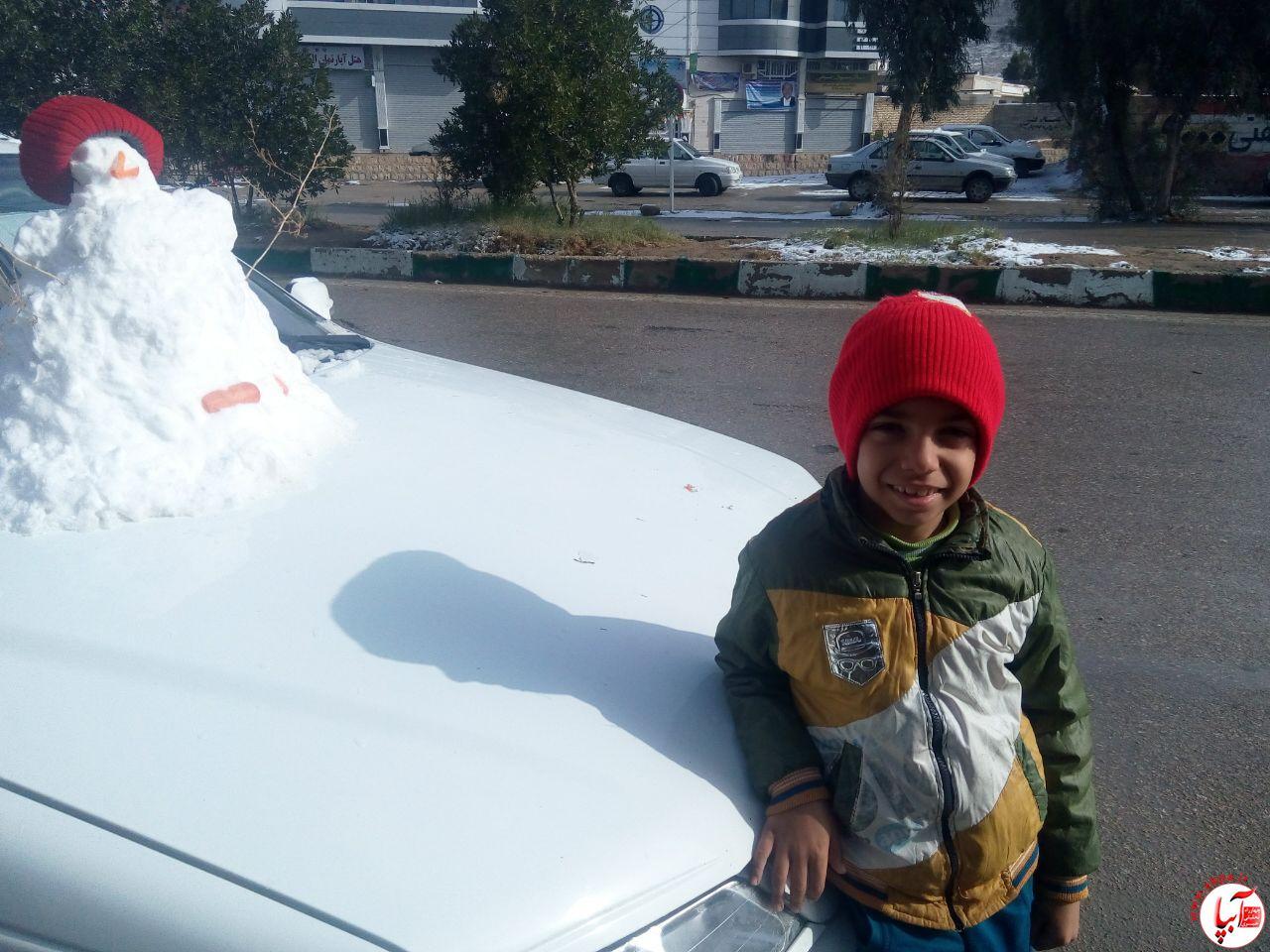 علیرضا-پناهیان گالری عکس زمستانه ی کودک آبپا