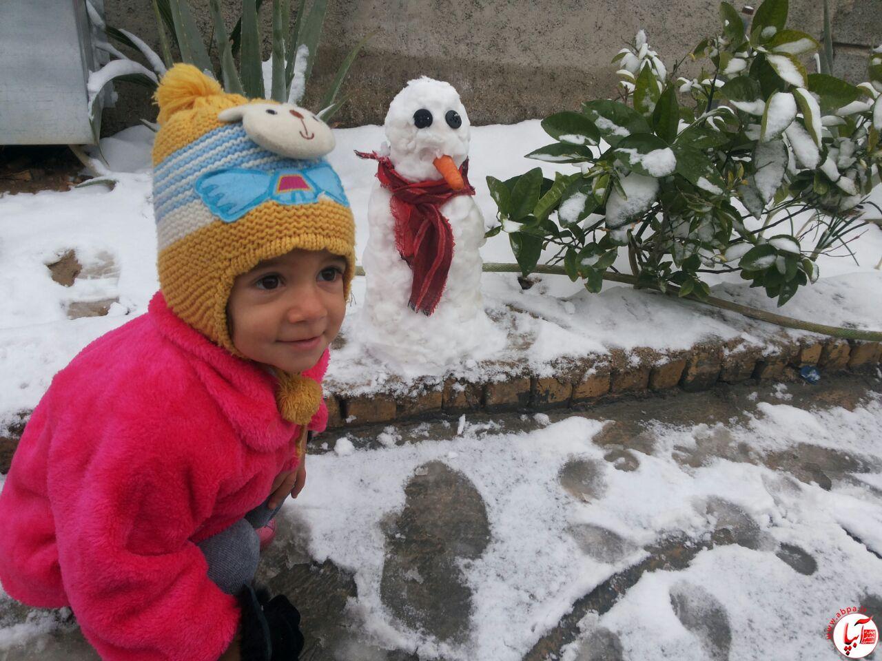 فرنوش-شهابی گالری عکس زمستانه ی کودک آبپا