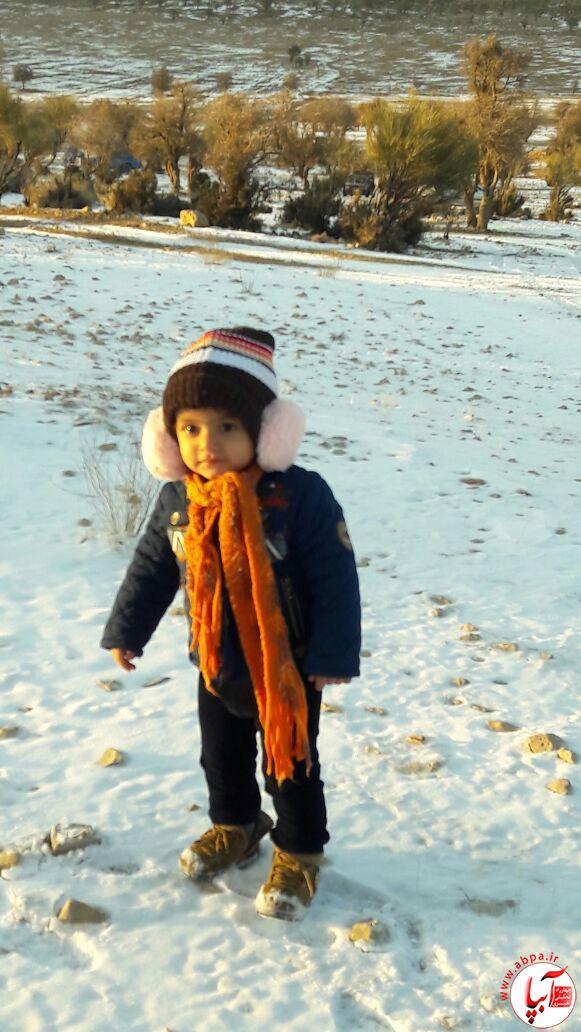 ماهان- گالری عکس زمستانه ی کودک آبپا