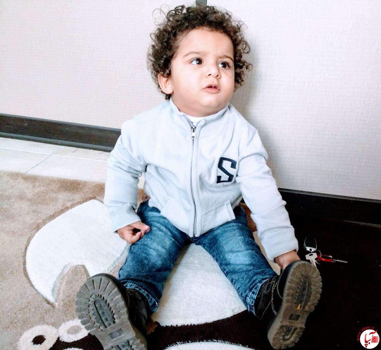 کسری-امیری گالری عکس زمستانه ی کودک آبپا