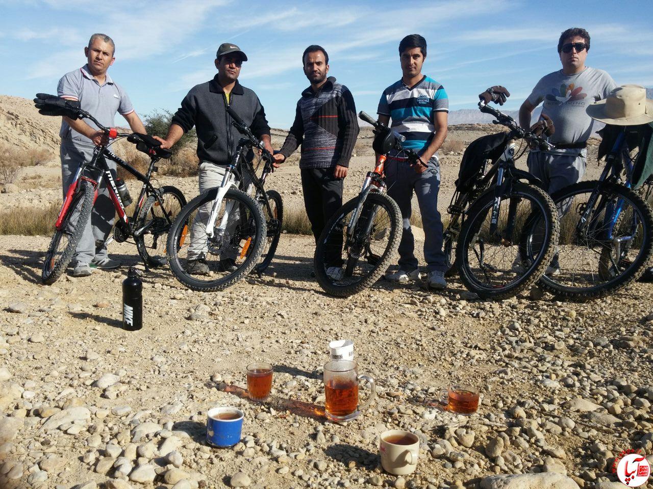 IMG-20170201-WA0006 توسعه فرهنگی با رکاب دوچرخه سواران