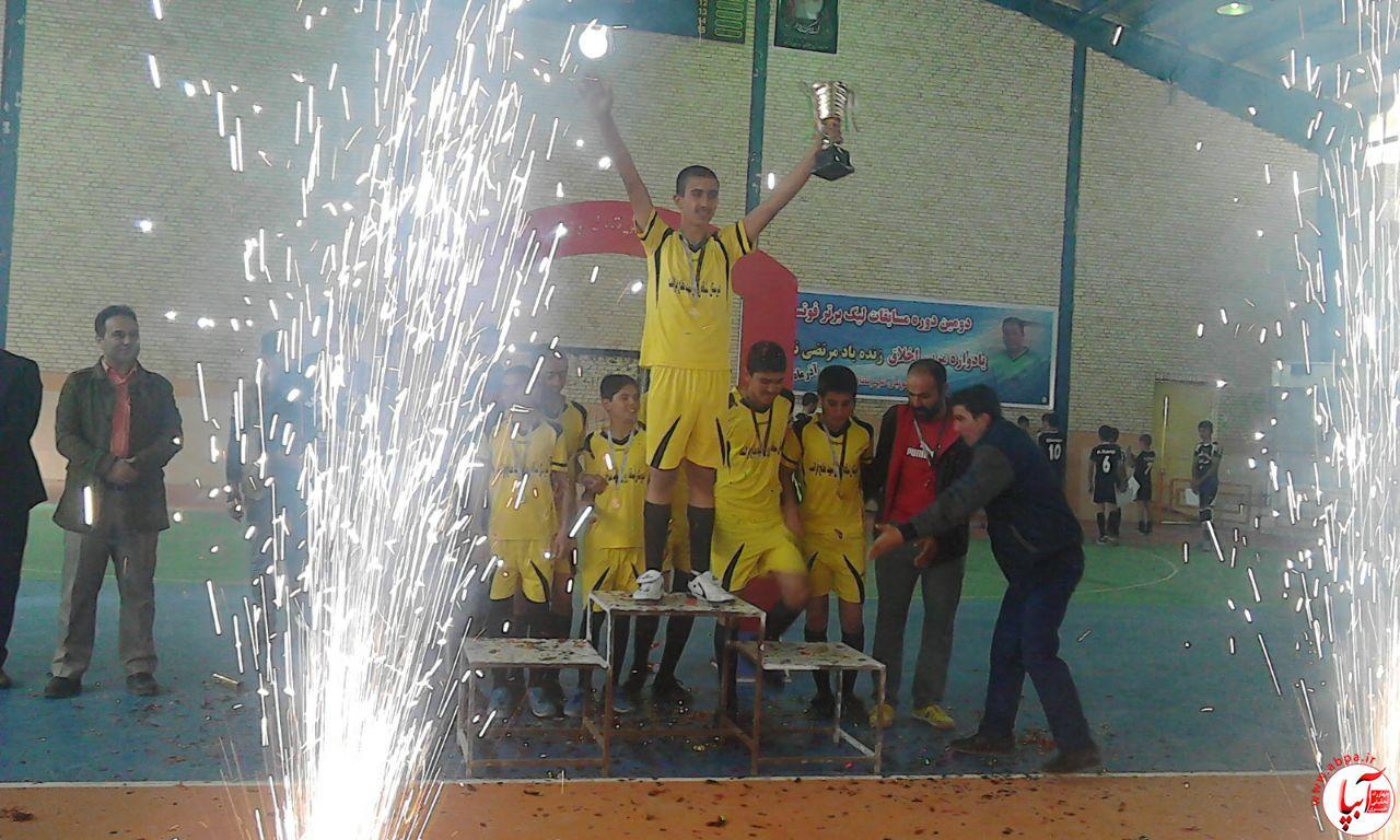 برگزاری مسابقات فوتسال و والیبال مدارس عشایری در فراشبند