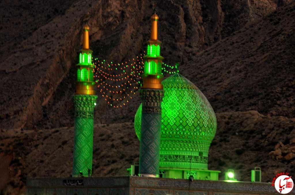 آقام-شهید «آقام شهید» فراشبند؛ رکوردار جذب بیشترین زائر نوروزی در فارس