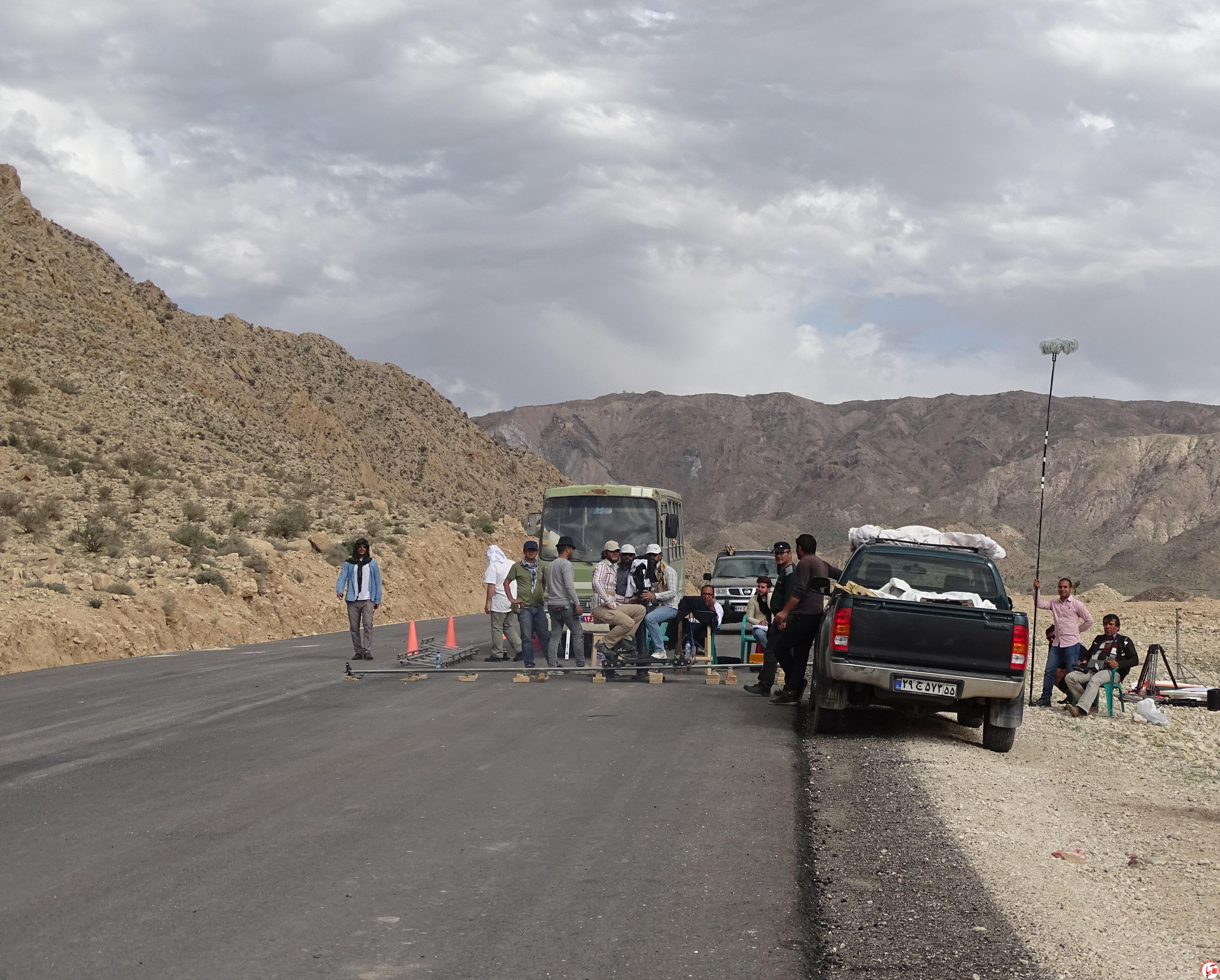 تولید فیلم سینمایی در شهرستان فراشبند/ تصویر