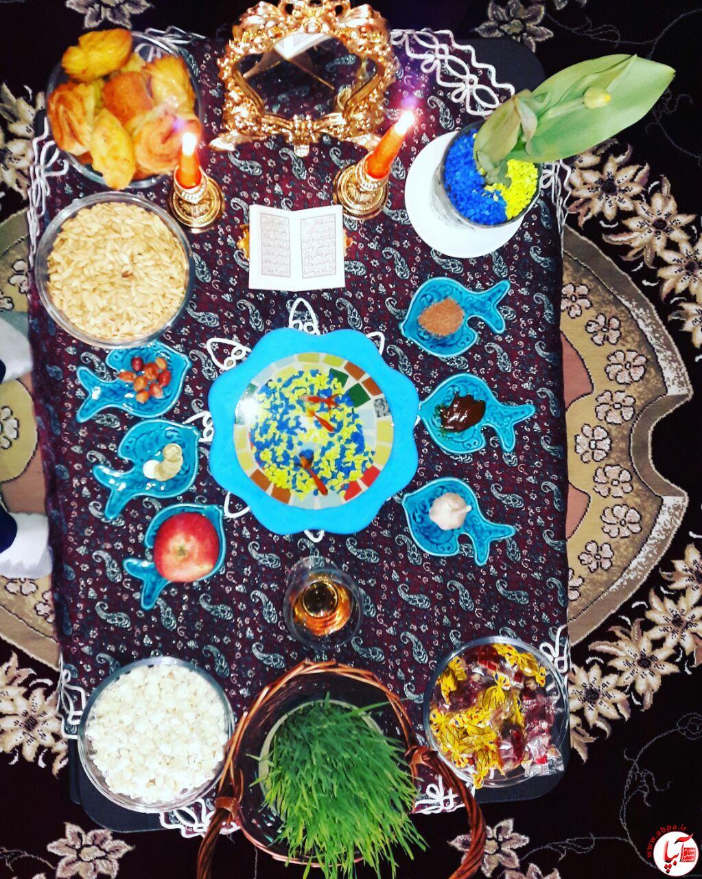 محمد-ذوالفقارلو آلبوم تصاویر سفره های هفت سین 96 مخاطبین آبپا