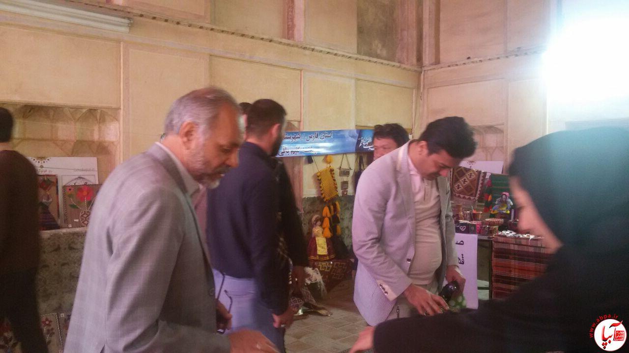 آبپا-گردشگری-3 برگزاری نمایشگاه صنایع دستی فراشبند در ارگ کریمخانی شیراز