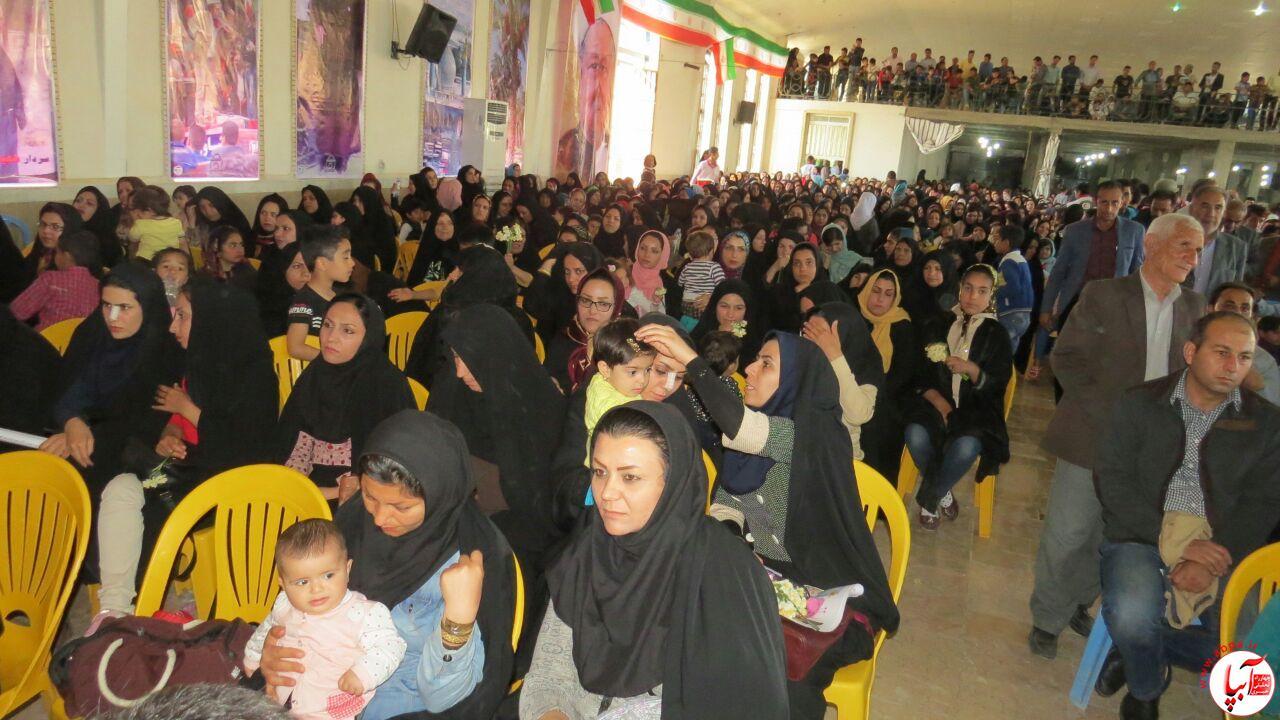 6048232e-50f4-4021-8abc-2645f01ce11c حسینیه اعظم قدس شرمنده ی حضور مردم شد/گزارش تصویری شماره 2 از جشن روز فراشبند