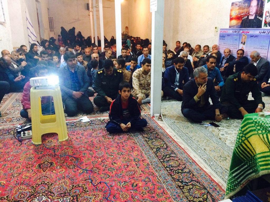 photo_2017-03-17_23-11-38 برگزاری مراسم یادبود شهدای عملیات بدر در روستای قنات باغ