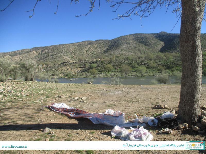 تنگاب-آبپا-1 نابودی طبیعت سد تنگاب پس از تعطیلات, فرهنگ آریایی!/ عکس