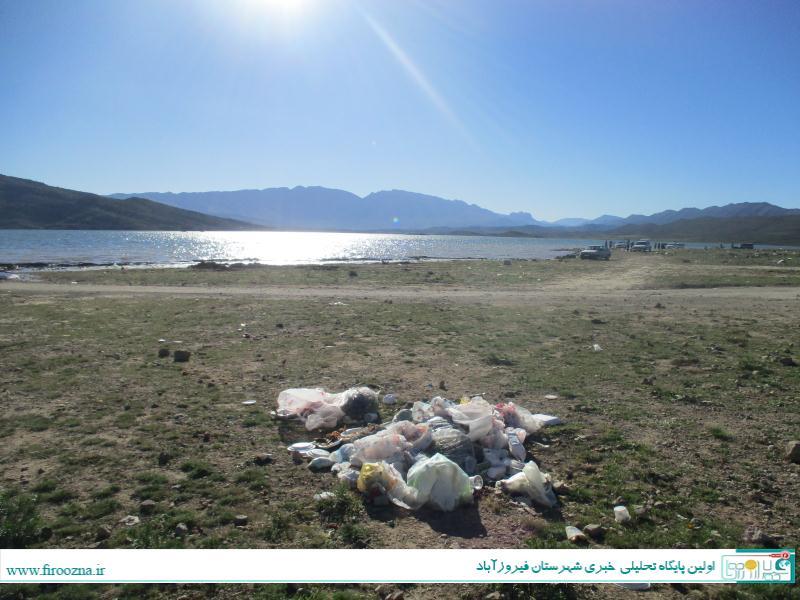 تنگاب-آبپا-11 نابودی طبیعت سد تنگاب پس از تعطیلات, فرهنگ آریایی!/ عکس