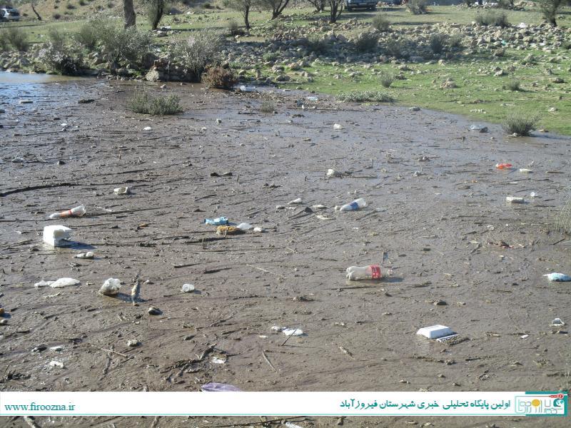 تنگاب-آبپا-17 نابودی طبیعت سد تنگاب پس از تعطیلات, فرهنگ آریایی!/ عکس