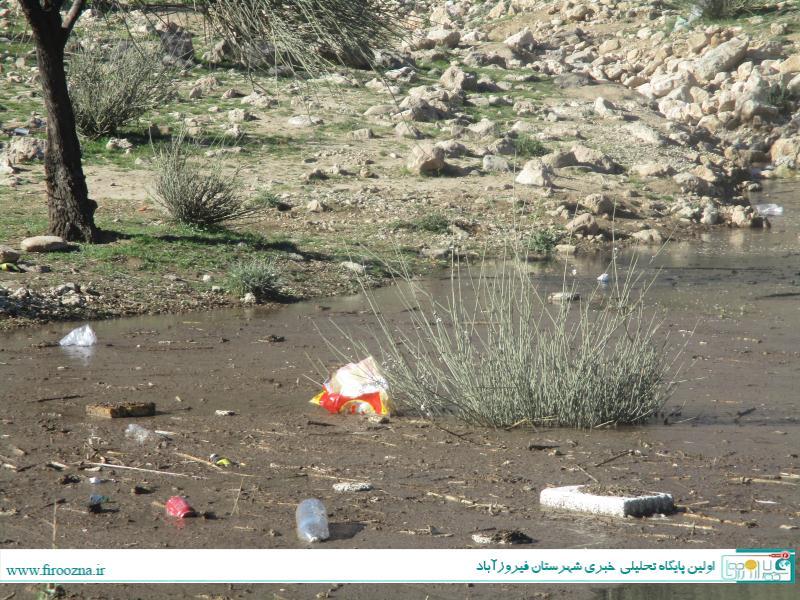 تنگاب-آبپا-21 نابودی طبیعت سد تنگاب پس از تعطیلات, فرهنگ آریایی!/ عکس