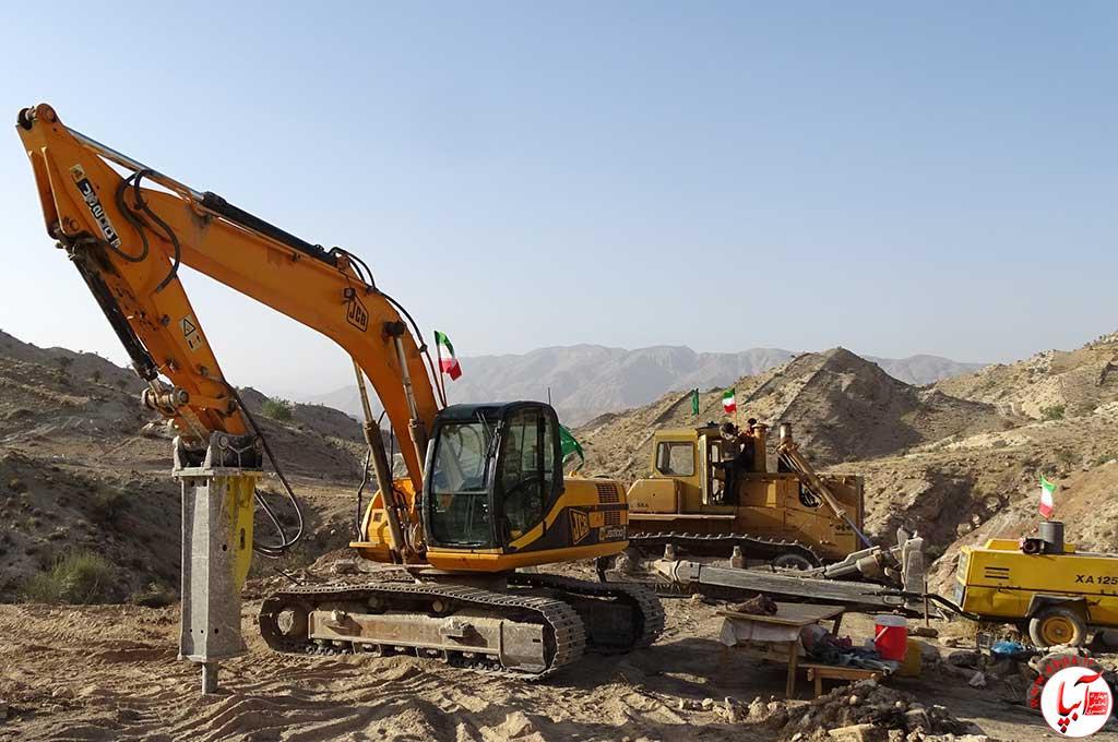 وزارت-نفت سنگ تمام وزارت نفت برای شهرستان فراشبند