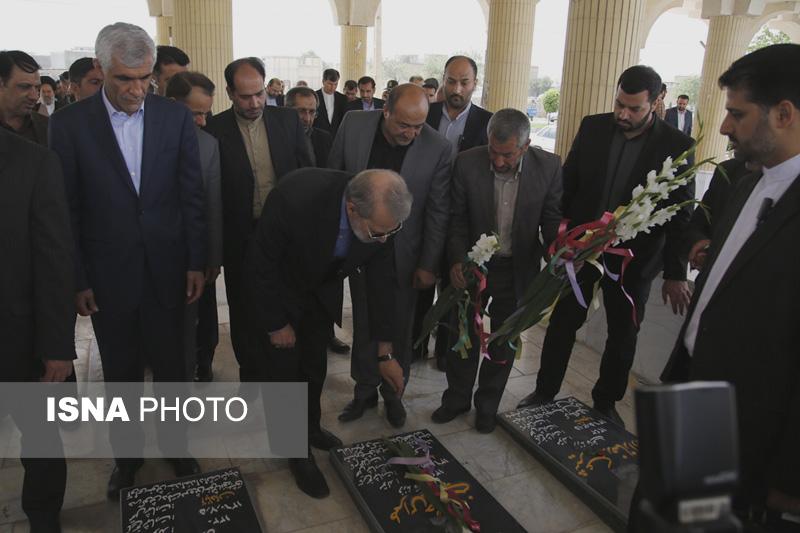 54231 گزارش تصویری از سفر رئیس مجلس به فیروزآباد
