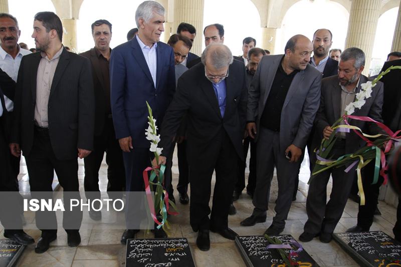 54232 گزارش تصویری از سفر رئیس مجلس به فیروزآباد