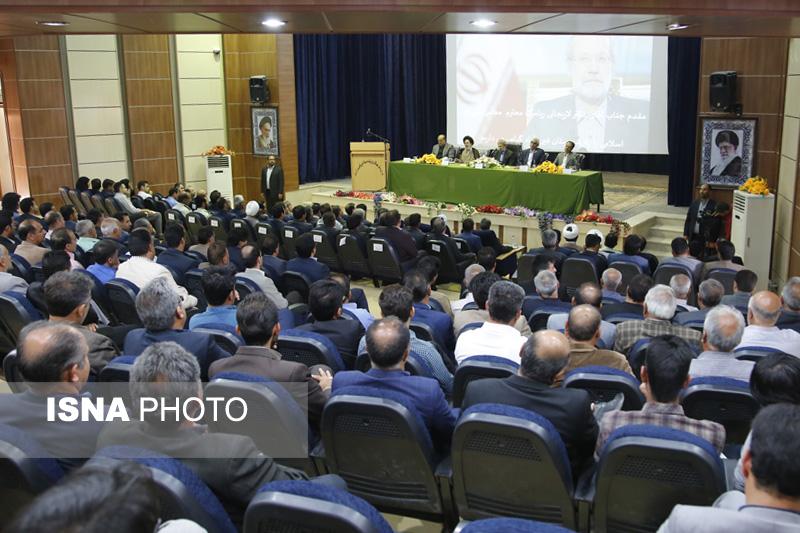 54234 گزارش تصویری از سفر رئیس مجلس به فیروزآباد