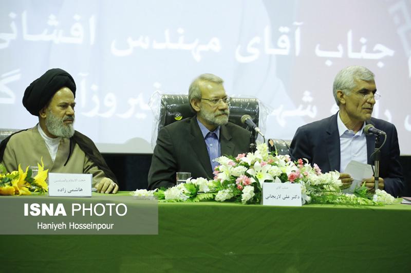 54240 گزارش تصویری از سفر رئیس مجلس به فیروزآباد