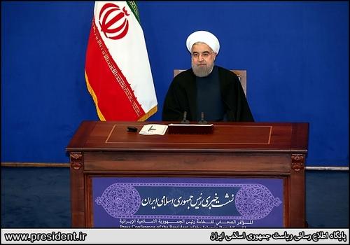 688279_135 روحانی : کلید حل مشکلات کشور عقل و تدبیر است.