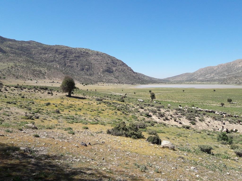 دریاچه-دشت-گرم کوهنوردی و بازدید از دریاچه دشت گورم
