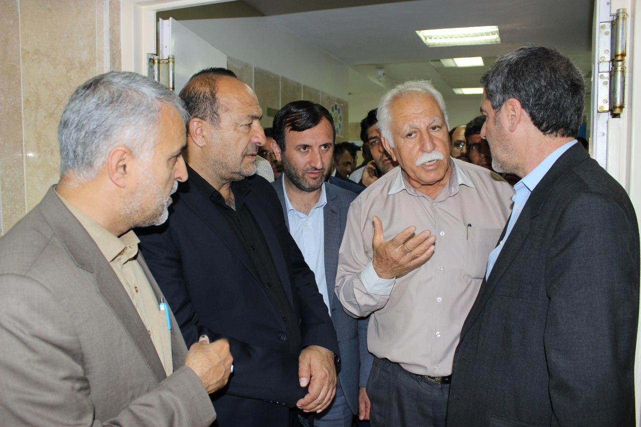 علوم-پزشکی-آبپا-1 بازدید نماینده مجلس و مسئولین علوم پزشکی از بیمارستان امام هادی (ع) فراشبند