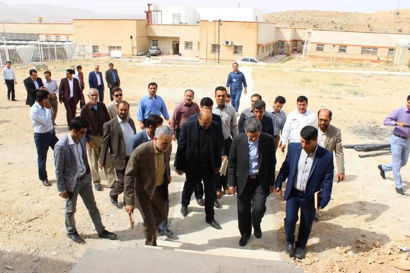 علوم-پزشکی-آبپا-4 بازدید نماینده مجلس و مسئولین علوم پزشکی از بیمارستان امام هادی (ع) فراشبند
