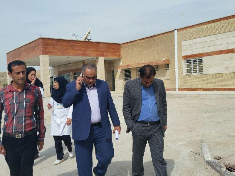علوم-پزشکی-آبپا-5 بازدید نماینده مجلس و مسئولین علوم پزشکی از بیمارستان امام هادی (ع) فراشبند