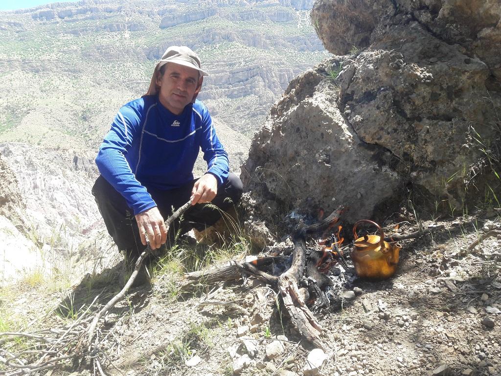 چای-آتیشی کوهنوردی و بازدید از دریاچه دشت گورم