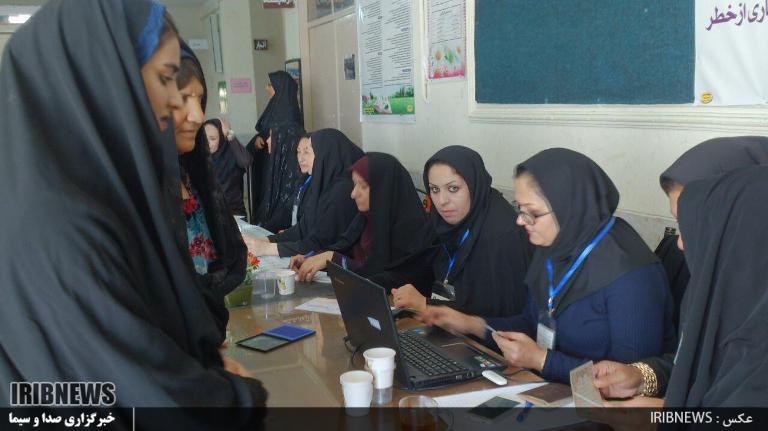 انتخابات ۹۶ : مردم فراشبند پای صندوقهای سرنوشت ساز رای