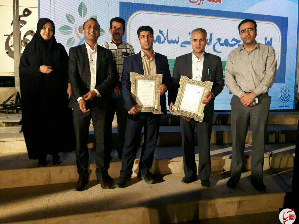 photo_2017-05-07_02-47-25 تجلیل از فعالان عرصه سلامت فراشبند در نخستین مجمع استانی سلامت فارس