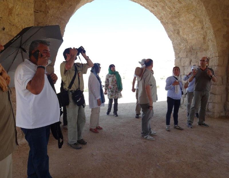 پایتخت چهارطاقیهای ایران میزبان باستان شناسان اسپانیایی
