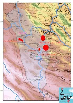 123456 جاده جدید فراشبند – فیروزآباد در چنگال غولِ نمکی