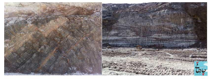 134568 جاده جدید فراشبند – فیروزآباد در چنگال غولِ نمکی