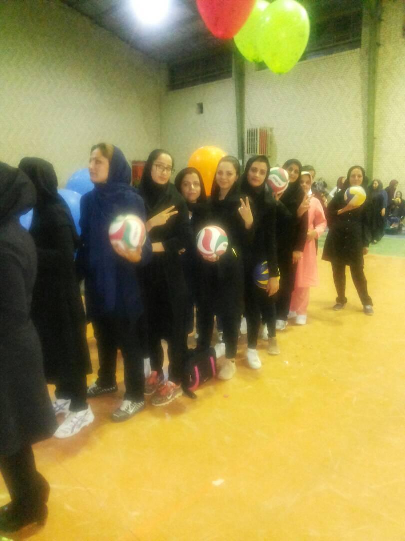 4968e298-a760-4703-beb8-b98751c6fde3 برگزاری مسابقات چهارجانبه والیبال بانوان فراشبند