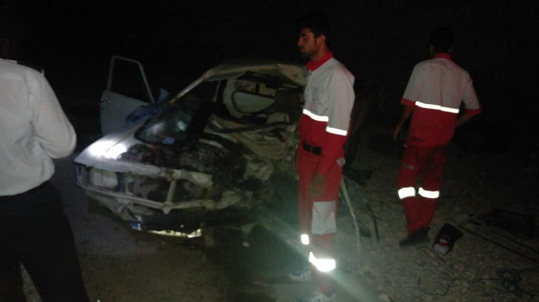 photo_2017-06-12_02-12-32 تصادف مرگبار وانت پیکان و کامیونت ایسوزو