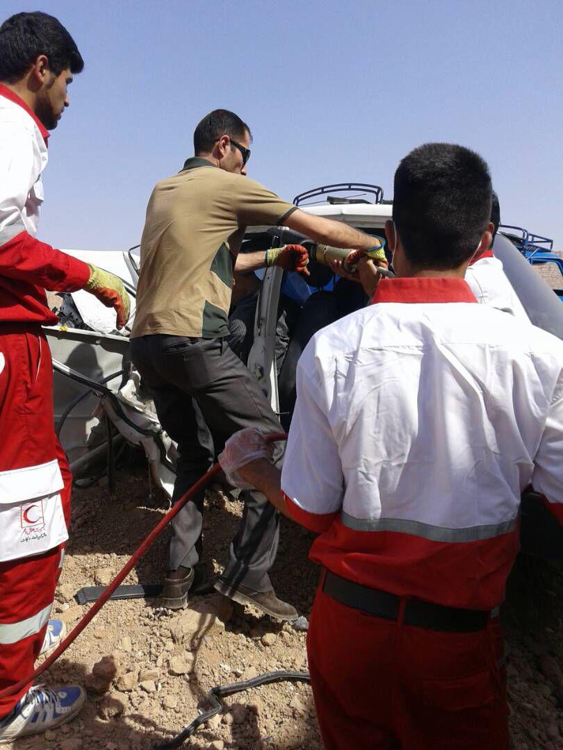 photo_2017-06-29_16-52-54 حوادث / یک کشته در اثر برخورد پراید با وانت نیسان