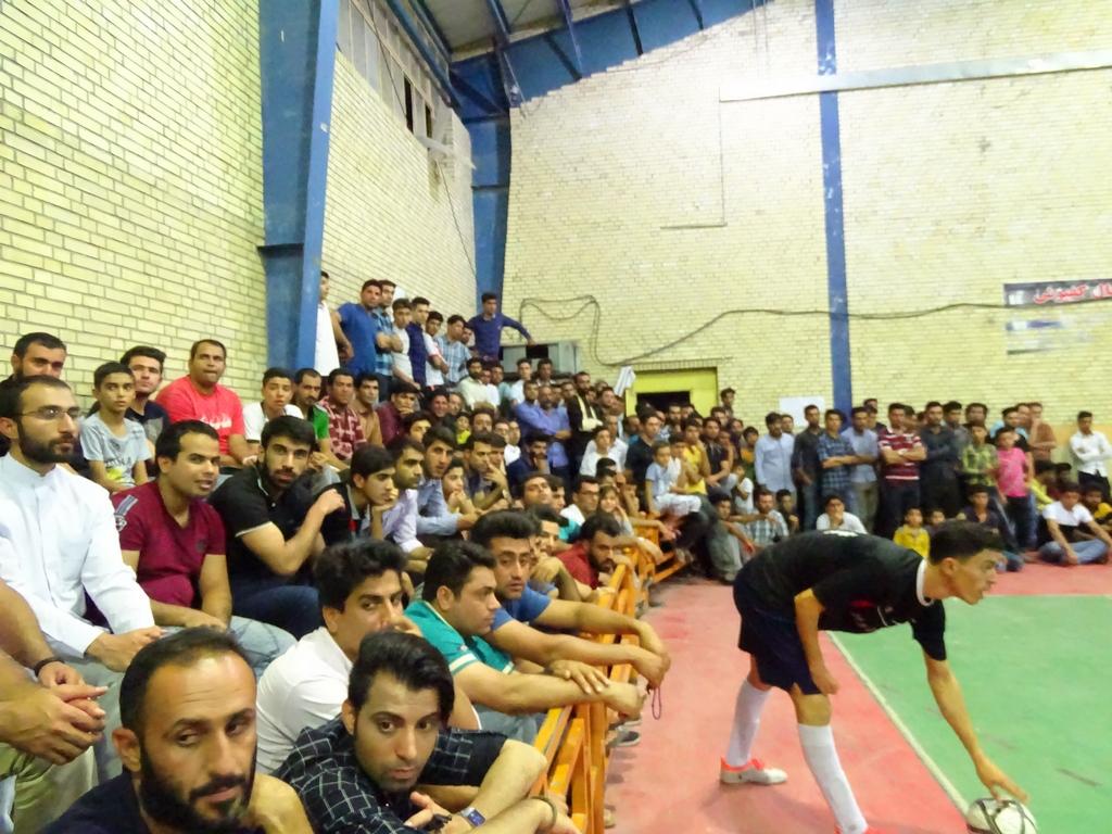 فوتسال-رمضان-101 گزارش تصویری از فینال فوتسال جام رمضان شهرستان فراشبند