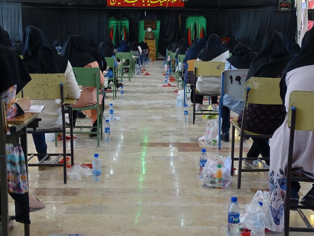 کنکور-13 برگزاری منظم کنکور سراسری 96 در فراشبند/تصویر