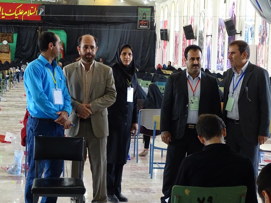 کنکور-9 برگزاری منظم کنکور سراسری 96 در فراشبند/تصویر