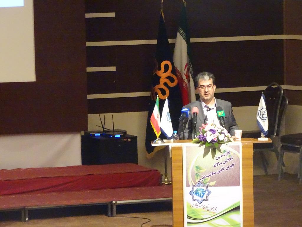DSC02899 تجلیل از خیرین سلامت فارس + تصویر