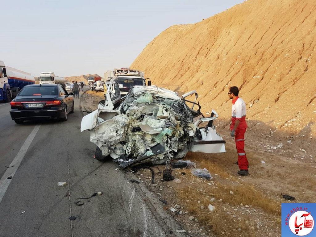 IMG-20170908-WA0003 تصادف منجر به فوت در جاده فیروزآباد _ فراشبند - جم