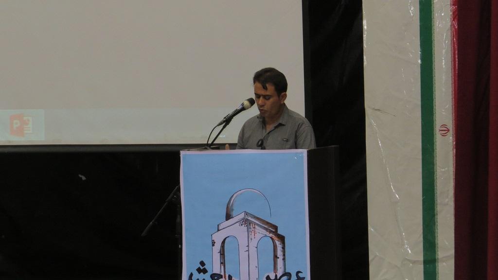 IMG_5082 برگزاری همایش عصر شعر شهرستانهای غرب استان فارس درفراشبند