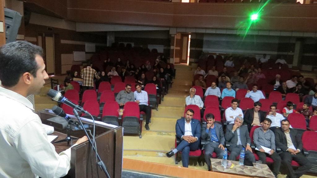 IMG_5116 برگزاری همایش عصر شعر شهرستانهای غرب استان فارس درفراشبند