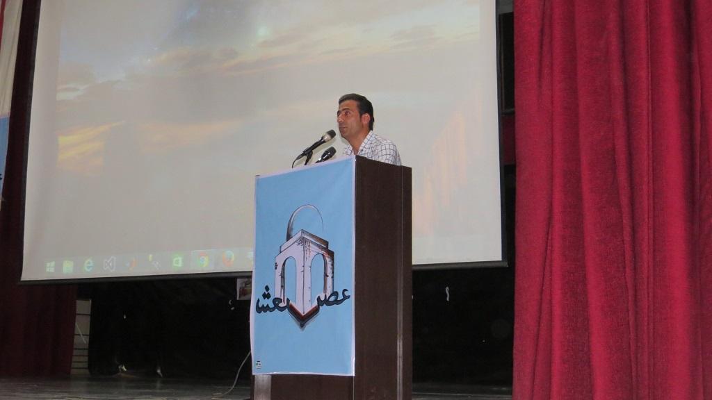 IMG_5127 برگزاری همایش عصر شعر شهرستانهای غرب استان فارس درفراشبند