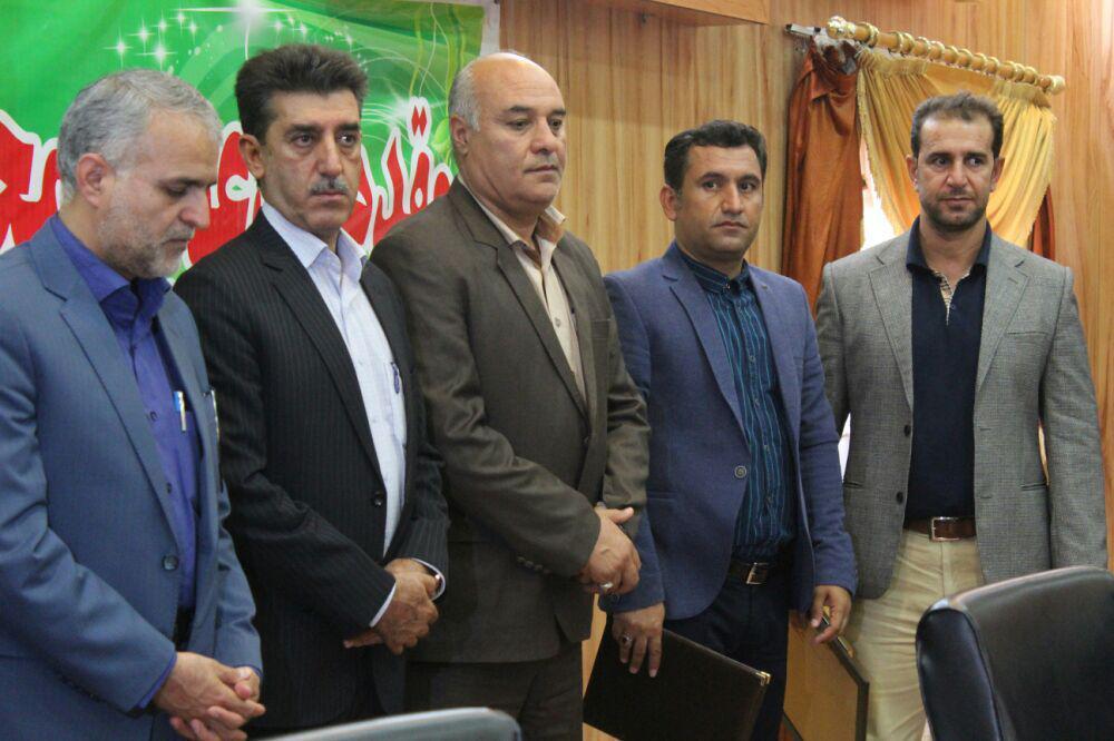 برگزاری آئین تودیع و معارفه اداره ورزش و جوانان فراشبند
