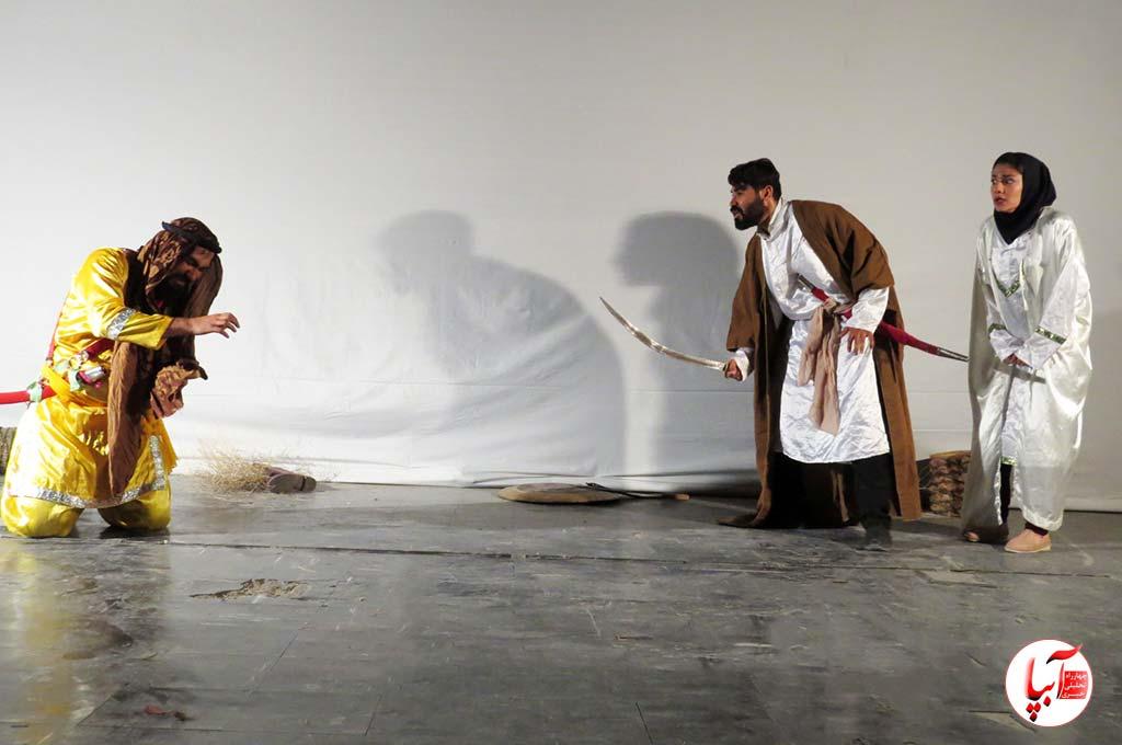 """تالار وحدت فراشبند میزبان نمایش مذهبی """"قصه ما به سر رسید """""""
