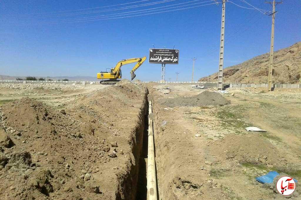 شهرک-صنعتی-فراشبند-5 نامه مدیر شهرک صنعتی به امام جمعه فراشبند در پاسخ به خطبه هفته گذشته
